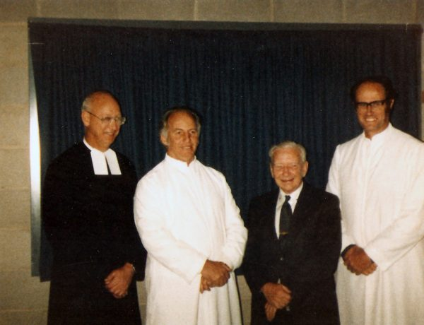 Four Headmasters of the St John's Regional College