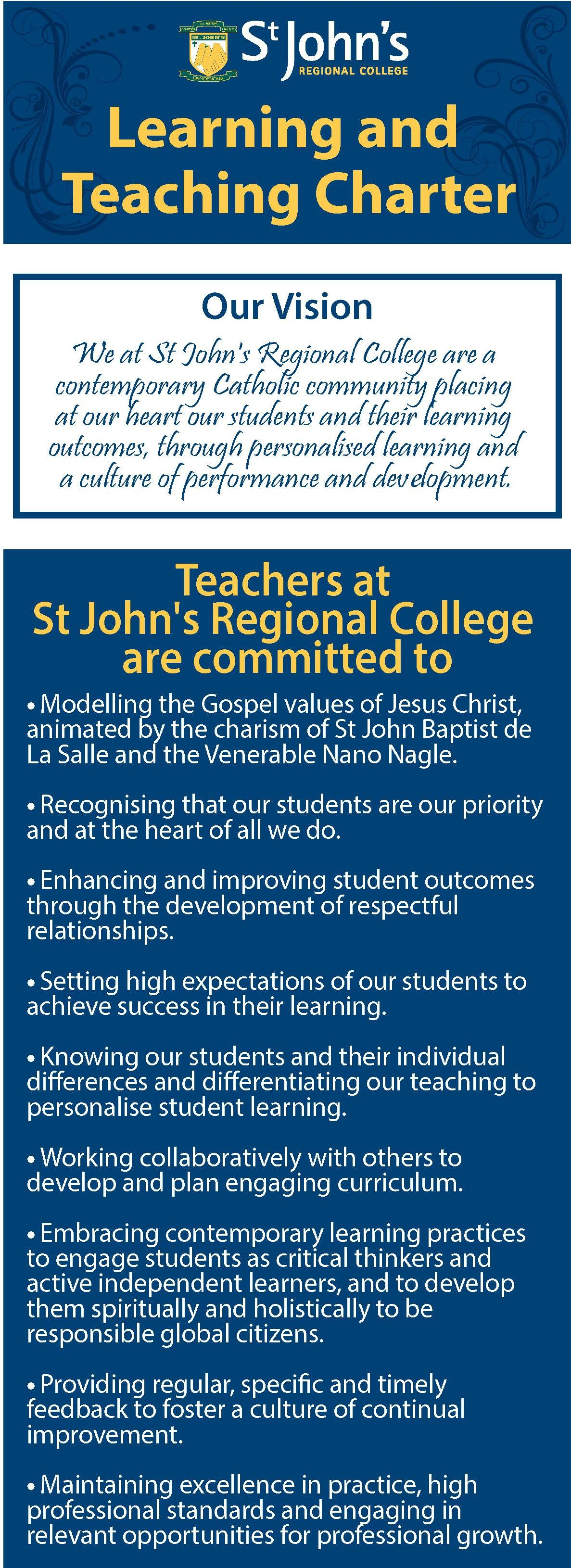 Learning & Teaching Charter