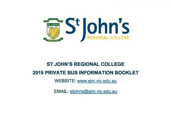 Private Bus Information Booklet