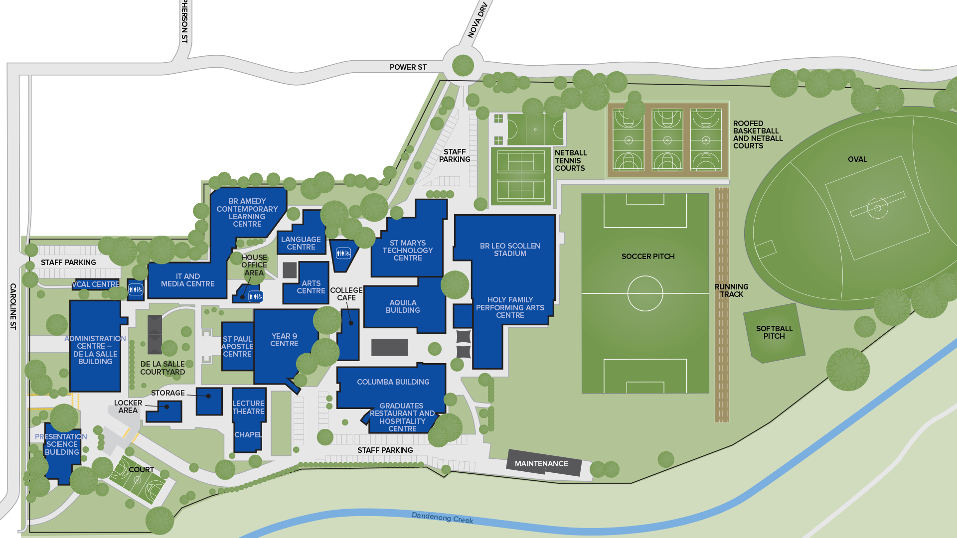 St John's College Interactive Map