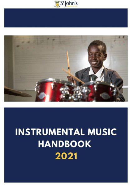 SJRC Instrumental Music Policy Handbook 2021